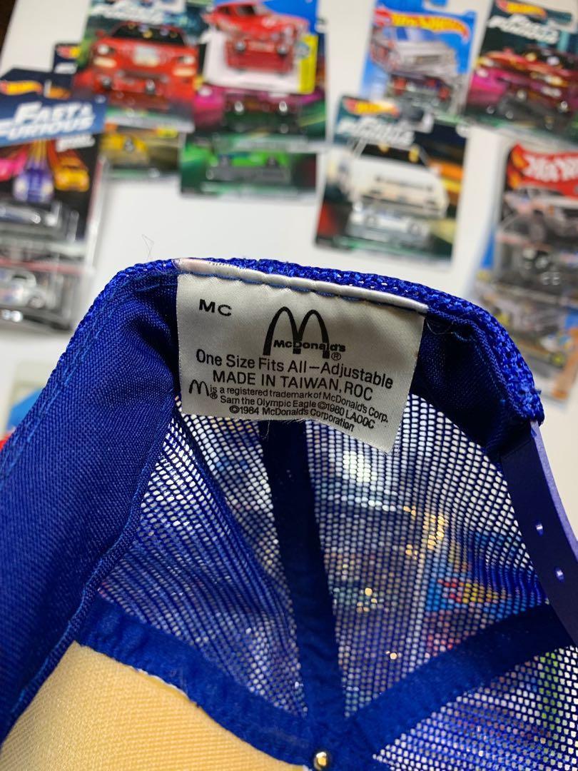 Olympic McD Cap ROC taiwan