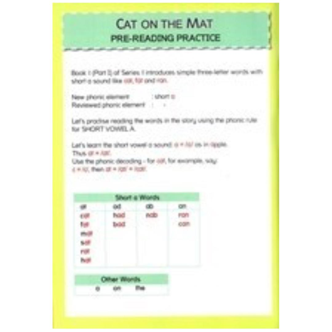 Phonics in Reading Series 1: Book 1 - Cat on the Mat & Dan and Nan | Children's Book | Early Readers