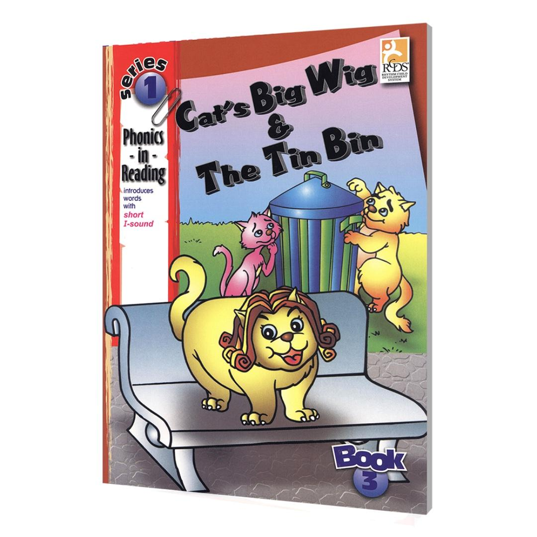 Phonics in Reading Series 1: Book 3 - Cat's Big Wig & the Tin Bin | Children's Book | Early Readers