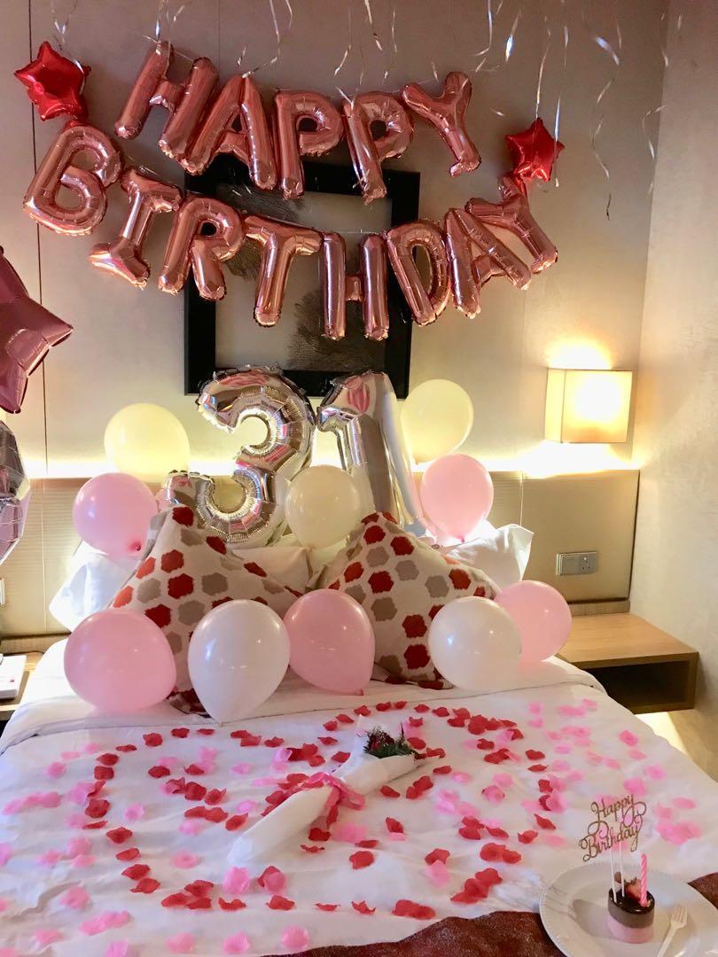 Pink theme Party Setup / Surprise/Proposal/Birthday