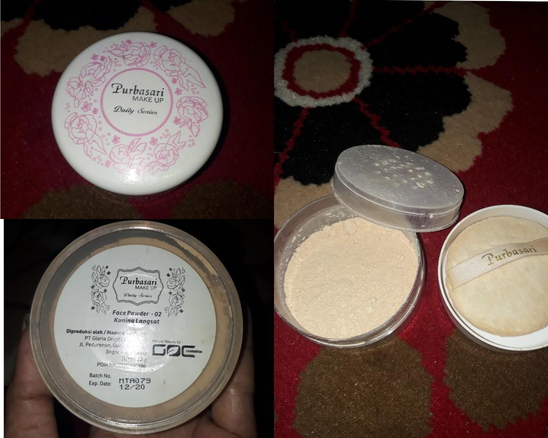 Purbasari face powder