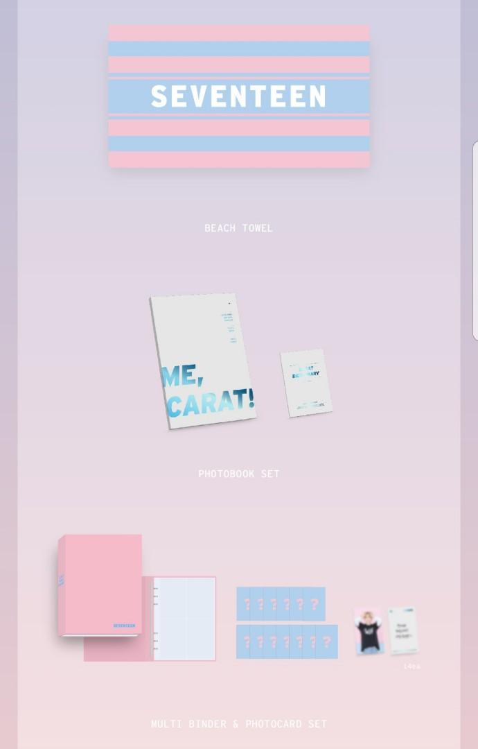 SEVENTEEN OFFICIAL 4TH TERM CARAT MEMBERSHIP KIT (First come first serve)