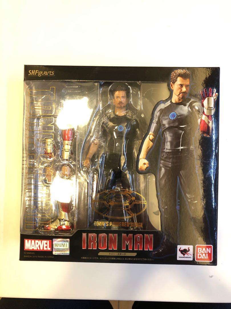全新SHF 兩隻正版行貨Ironman Tony Stark 初版、Michael Jackson,一set買,不散買,不議價