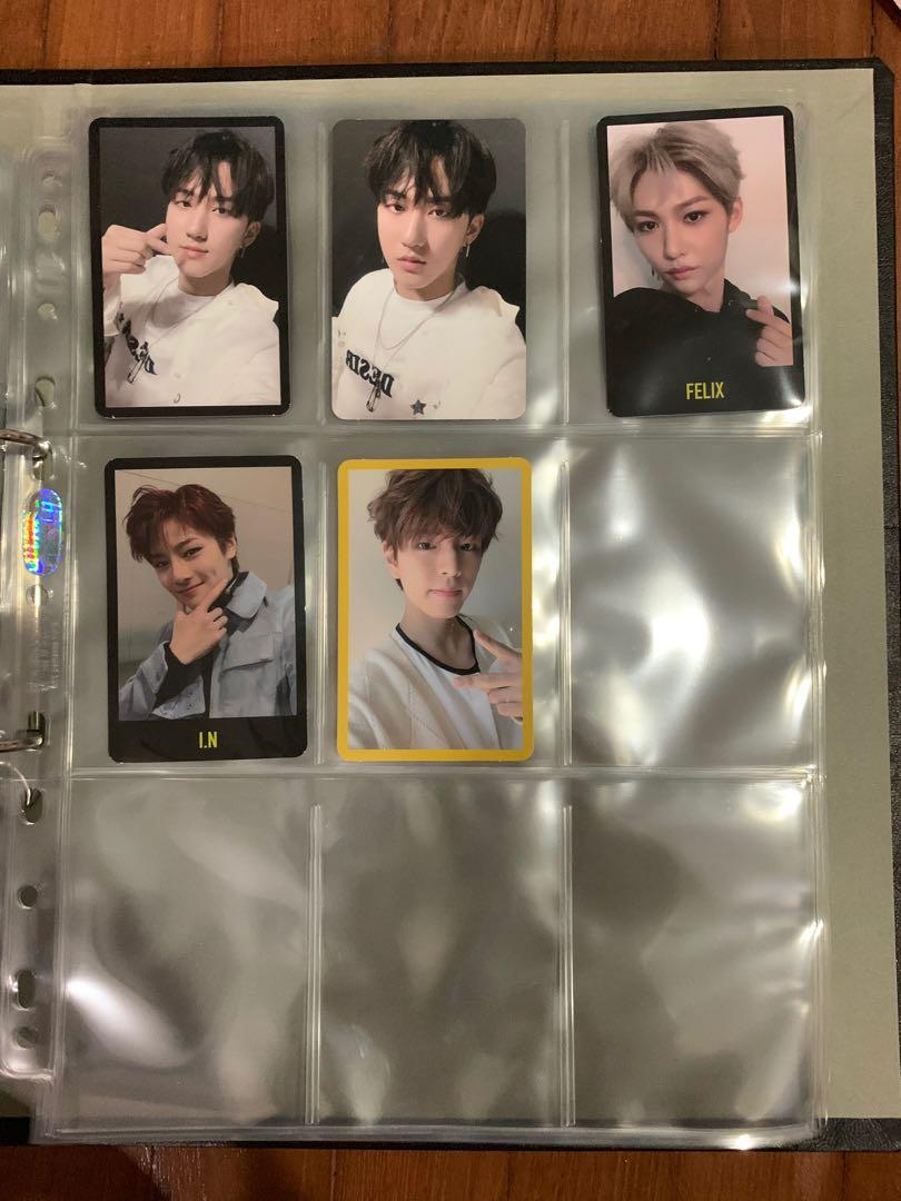 Stray Kids Changbin/Seungmin/Felix/Jeongin Yellow Wood/Miroh Album Photocard