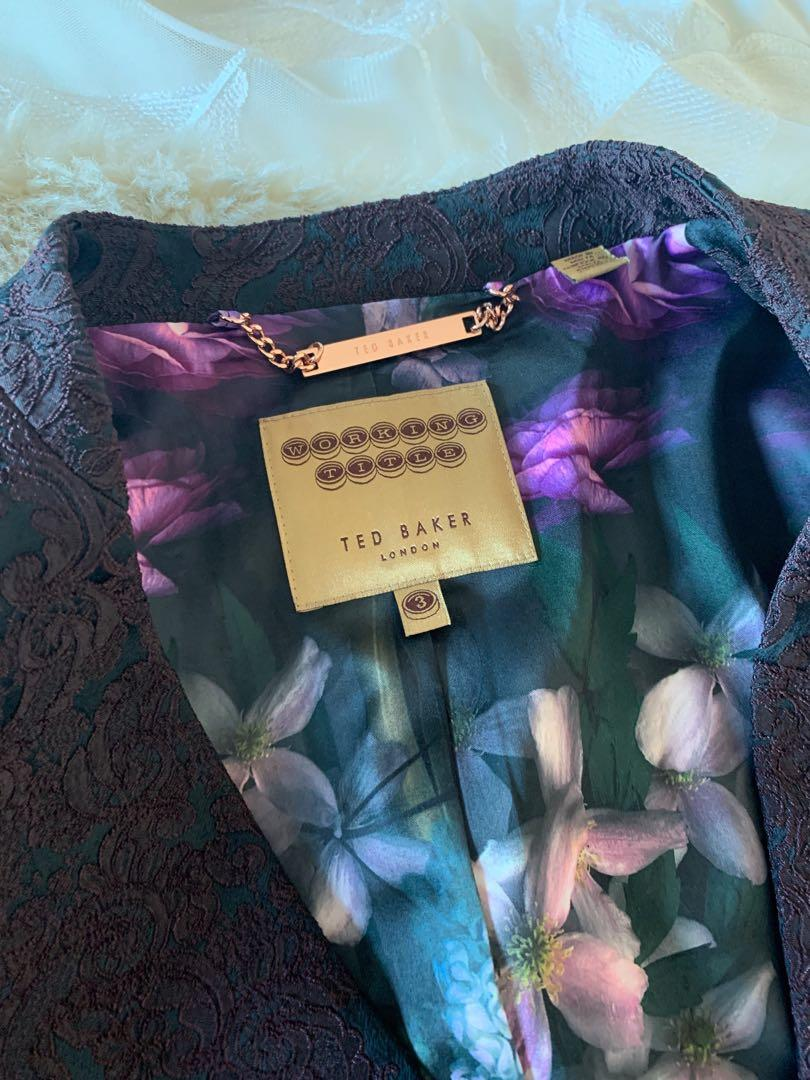 Ted Baker Suits in Baroque Size 3 (size 12) Excellent condition