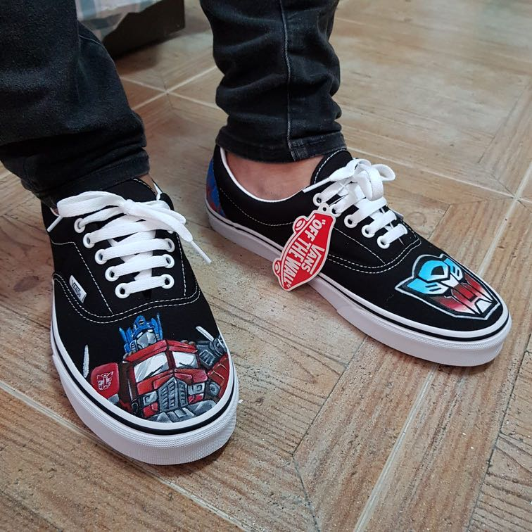Vans Custom Paint shoes, Design \u0026 Craft