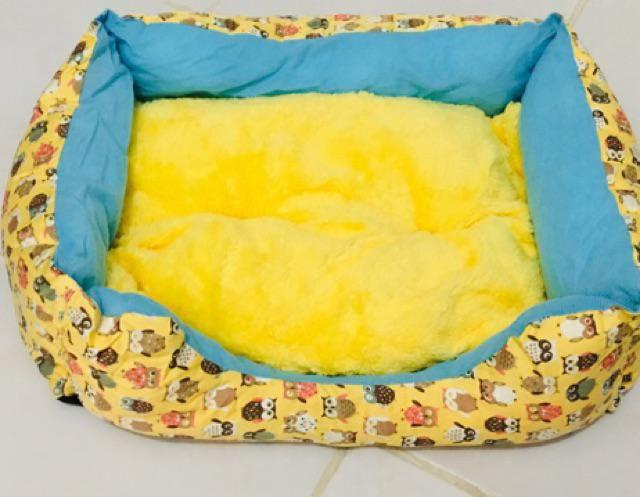 Yellow Pet Bed
