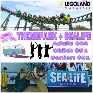 LEGOLAND THEME PARK + SEA LIFE