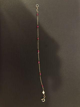 古飾洋行-紅寶石手鍊