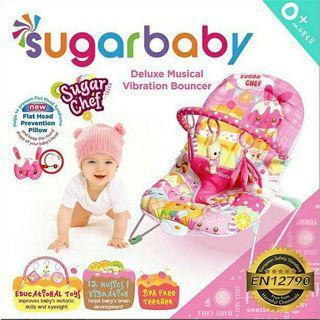 Sugar Baby Bouncer Sugarchef Pink