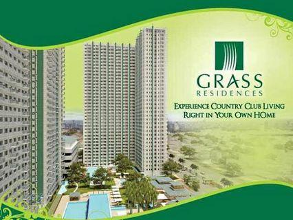 5% DP to Move in Grass Residences 1 Bedroom Condo for sale near SM Nor