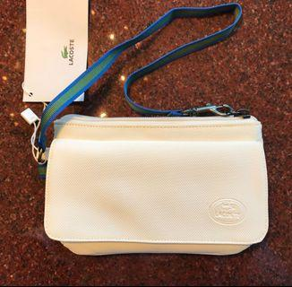 AUTHENTIC Lacoste Clutch (new, tags on)