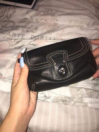 Real coach handbag