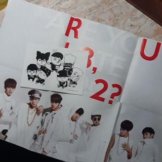 [WTS] BTS poster and postcard