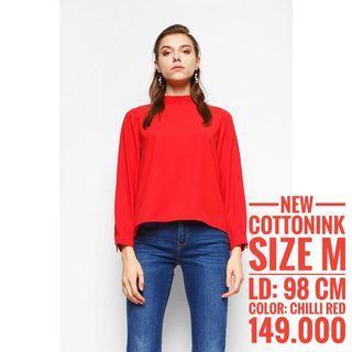 Cottonink top size M