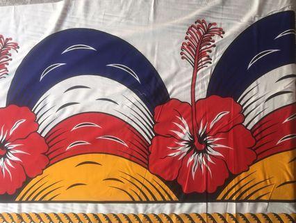 Bunga Raya Decorative Banner