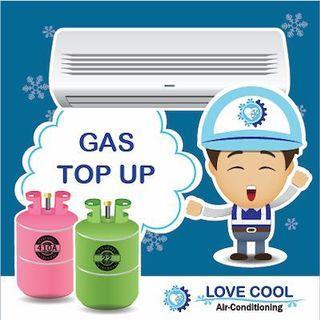 Aircon Gas Top Up