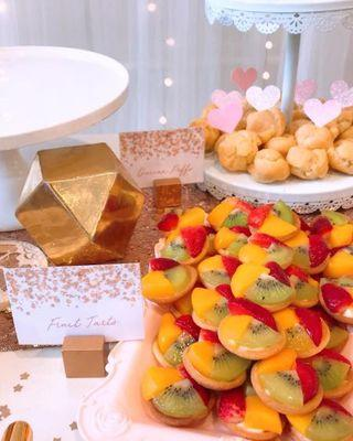 BLISSFUL PACKAGE (Pastries for DIY Dessert Tables)