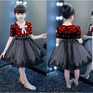 Dress Anak batik gaun perempuan Clarabela