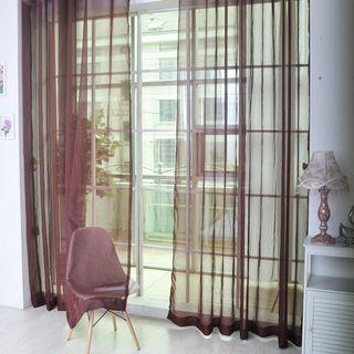 Home Tulle Voile Curtain Drape Panel Sheer