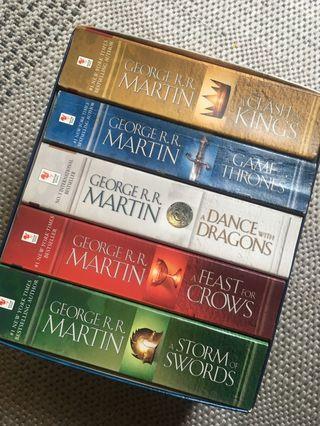 Game Of Thrones box set