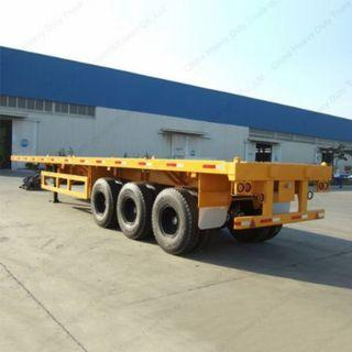 tri axle high bed semi trailer