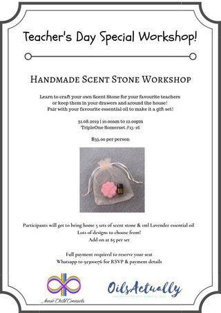 Handmade Scent Stone Workshop