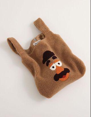 轉賣 LOVFEE 玩具總動員蛋頭先生QQ包手提袋