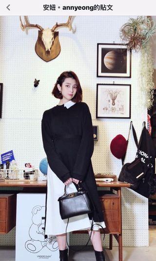 可議價 近全新轉賣 設計師真皮手工包 peekaboo fendi 真皮 牛皮 側背包 斜背包 手提包 黑色 極簡 簡約