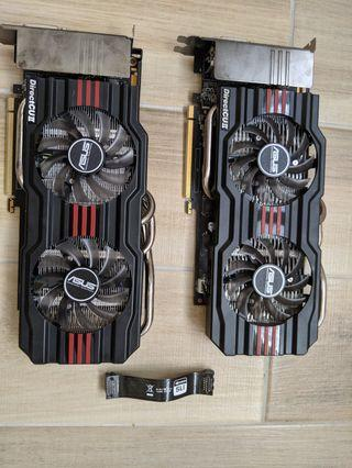 Aces GeForce 660TI OC (one) & TOP (one) 2GB Video cards