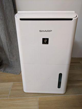Sharp DW-D8HT-W 自動 除菌離子清淨除濕機(8L)