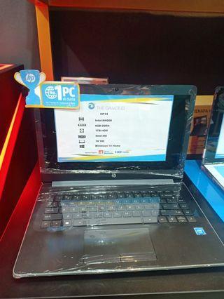 Laptop HP 14 DualCore Kredit Tanpa CC GRATIS 1X CICILAN