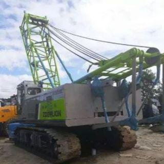 ZCC550 zoomlion 55 tons LATTICE CRAWLER CRANE