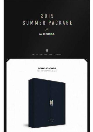 LOOSE ITEMS BTS SUMMER PACKAGE IN KOREA 2019