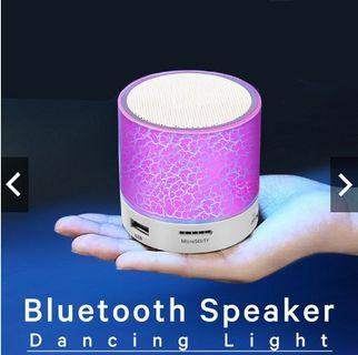 Bluetooth LED Sound Speaker Stereo Portable Wireless Mini