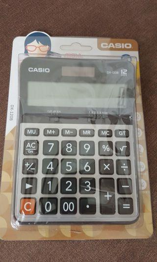 卡西歐12位元商務電子計算機