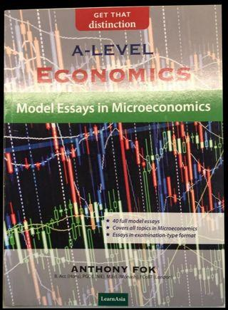 6 Books of A Level Economics by Anthony Fok