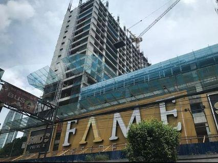 10% Discount Fame Residences 14k Monthly  1 Bedroom Preselling Condo f