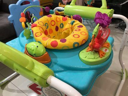 Fisher-Price First Step Jumperoo+walker
