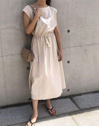 日本服飾—one piece 素面洋裝