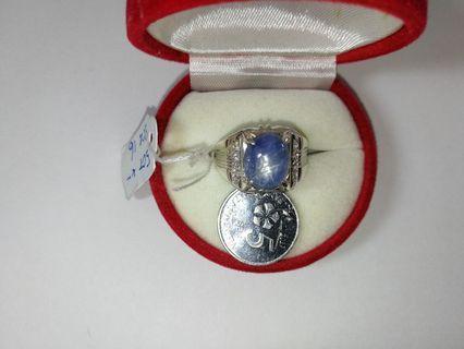 Cincin Perak Star Sapphire/ Nilam Burma