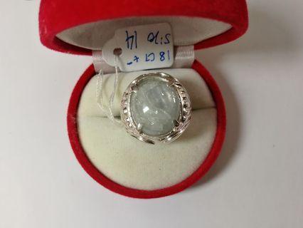 Cincin Perak Star Sapphire / Nilam Burma