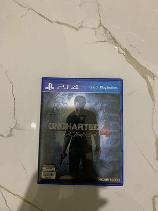 Kaset PS4 Uncharted 4
