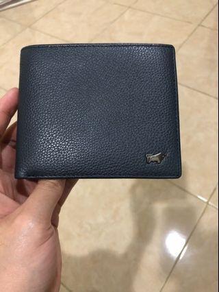 Braun Buffel Wallet Navy