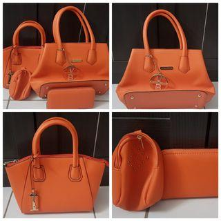 Victoria Beckham Orange Bag
