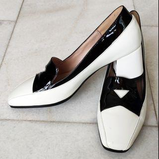 White England Style Loafer and Oxford Woman Shoes