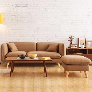 Brown/Blue Sofa/Cloth Sofa AS29