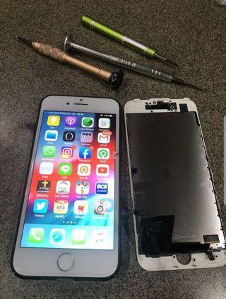 Sparepart iPhone 6G White Bergaransi