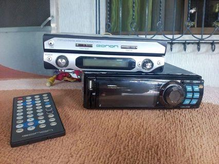 Car stereo with dvd