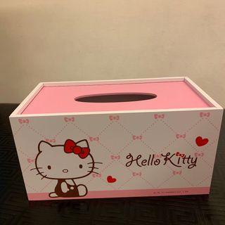 Hello kitty 凱蒂貓 面紙盒 收納櫃 小抽屜 超級低價出清
